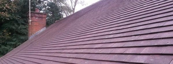 Epsom roof moss removal