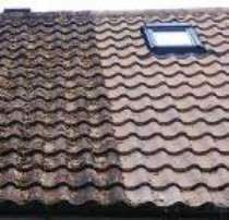 Camberley rated roof cleaning