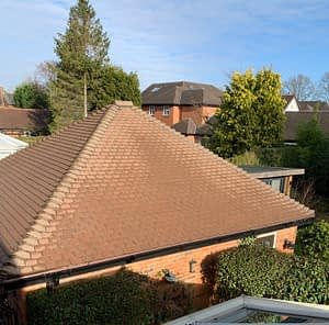 roof moss removal stockport